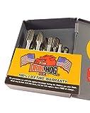 Drill Hog 8 Pc Carbide Burr Set