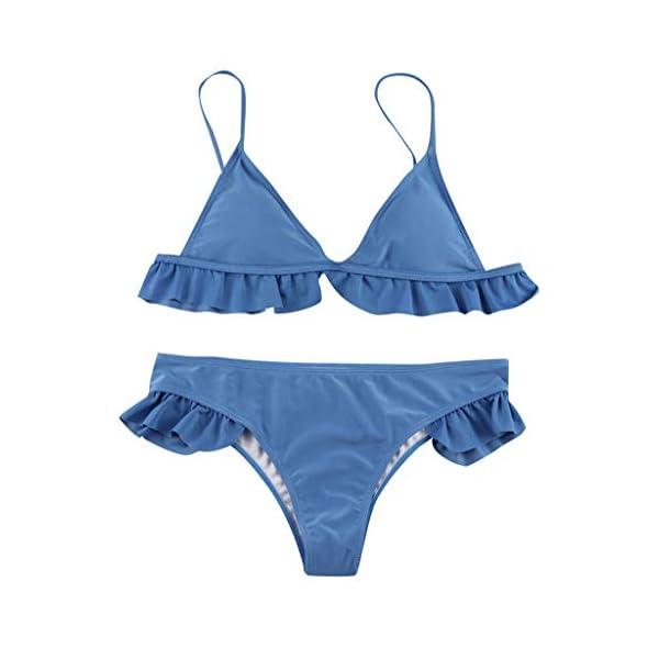 Costumi Donna Mare Due Pezzi Vita Alta Push Up Sexy 2019, Brasiliana Triangolo,Bikini Donna Mare Stampa Floreale Bikini… 2 spesavip
