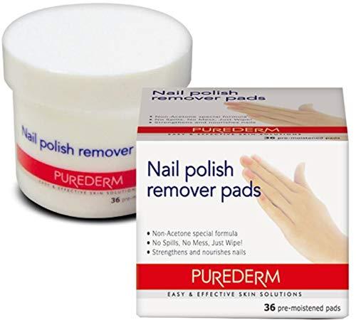 Purederm PU-ADS114 Nail Polish Remover Pads