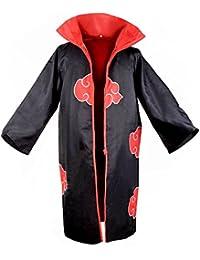 Naruto Akatsuki Organization Members Cloak Ninja Robe Hooded