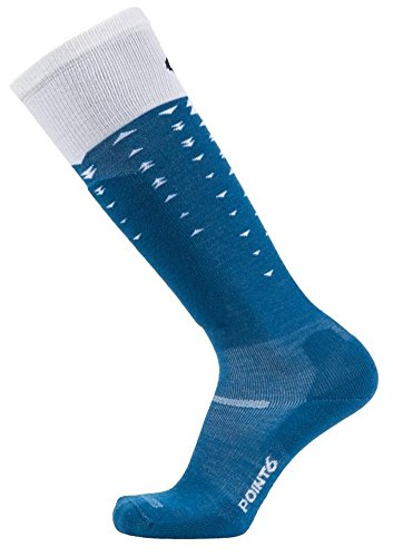 Point6 Ski Arrow Light OTC Sock - Deep Teal Medium (Point6 Ski)