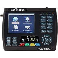 digital satellite finder meter satlink ws-6950