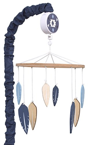 (Carter's Carter's - Be Brave - Musical Mobile, Navy, Light Blue, White )