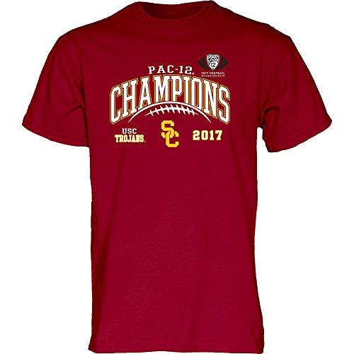 Usc Trojans T-shirt (USC Trojans Pac-12 Champs Tshirt 2017 Cardinal - XL)