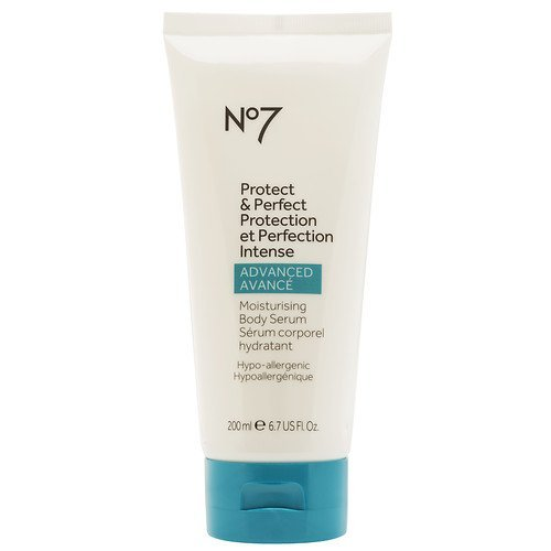 No7 Protect & Perfect Intense ADVANCED Moisturising Body Serum 200ml (Boots No 7 Protect And Perfect Intense Serum)
