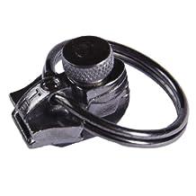 Fixnzip MGZS58 Nickel Replacement Zipper Slider, Black, Medium
