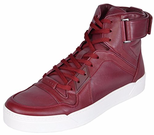 Gucci Men's Basketball High-Top Sneaker, Strong Red 386738 (US 10 UK - Men Sale Gucci