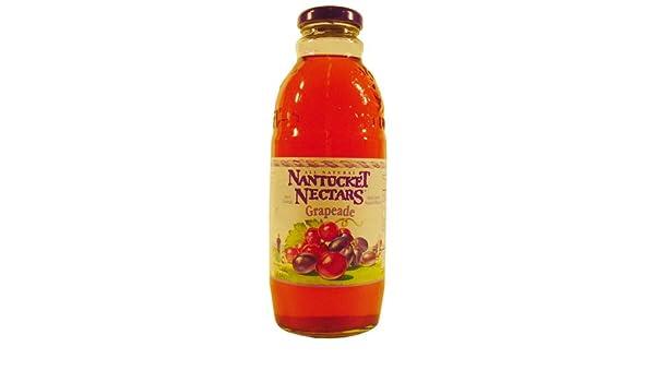 Amazon.com : Nantucket Nectars Grapeade, 17.5 fl oz : Grocery & Gourmet Food