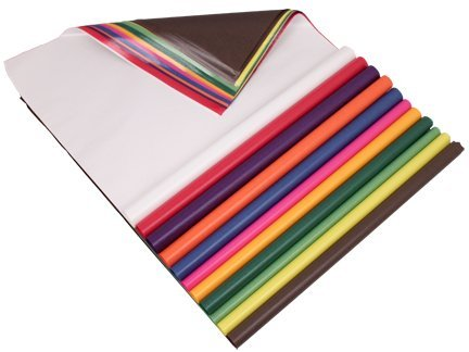 (Mercurius Kite Paper, Assorted Colors, 100 Sheets, 19.5