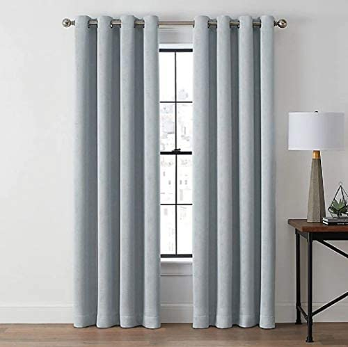Zadie 95 Inch Grommet 100 Blackout Window Curtain Panel