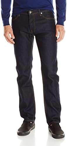 Southpole Men's Flex Stretch Basic Twill and Rinse Denim Pants