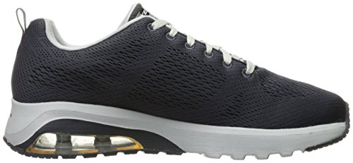 Hombre natson Skech Gris charcoal grey Skechers Para Extreme Entrenamiento De air Zapatillas w8n4f1tq