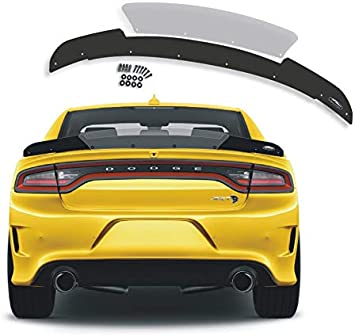 Stealth Wicker Bill 2 Piece Design Spoiler 2015-2019 Dodge Charger SRT Hellcat