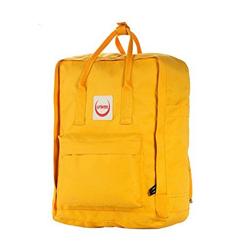 UNK - Bolso  Niños Hombre Mujer Niños-Niñas Niñas amarillo