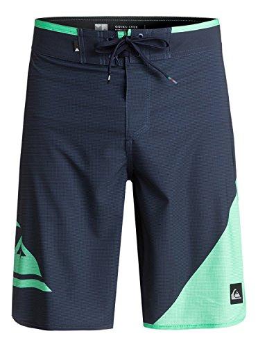 Quiksilver Drawstring Shorts (Quiksilver Men's New Wave Everyday 20 Boardshort Swim Trunk, Navy Blazer, 38)