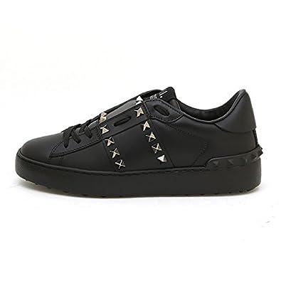 ea25d79d5 Valentino Garavani Women Rockstud Untitled Hidden Low Top Sneakers Black  NW1S0A01BXE0NO (whoosso): Amazon.co.uk: Shoes & Bags