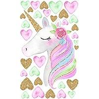 Amaonm Creative Cute Rainbow Unicorn With Colorful Hearts...