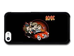 MEIMEIAMAF ? Accessories ACDC Band Illustration Riding Car to 666 case for ipod touch 4LINMM58281