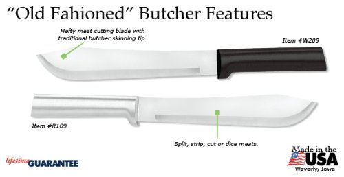 Rada Cutlery R109 Old Fashioned Butcher Knife with Aluminum Handle