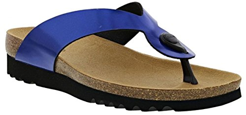Scholl Kenna Womens Toe Post Sandals Blue / F270491007 5VZVOIgeib