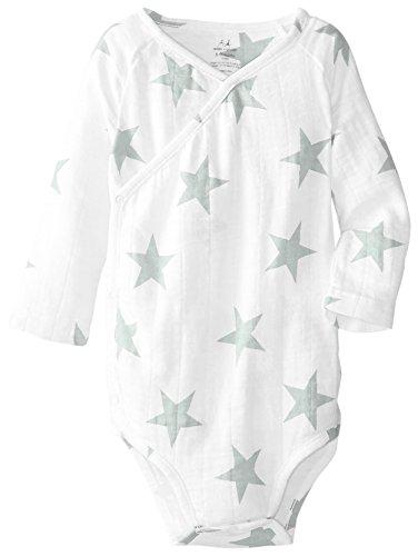 aden + anais Baby Long Sleeve Kimono Body Suit