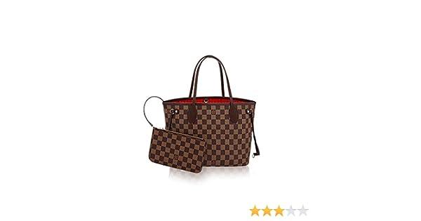 Amazon.com  Louis Vuitton Damier Ebene Canvas Neverfull PM N41359  Shoes acfc220029ea1