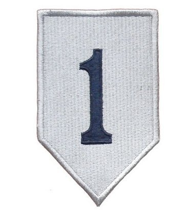 Division Authentic Perfect Cond Military Velcro Patch(k) (Style1) ()