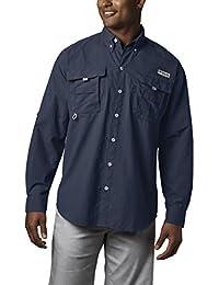 Men's PFG Bahama II Long Sleeve Shirt, Breathable with UV Protection