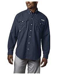 Columbia PFG Bahama II Camisa de Manga Larga para Hombre, Transpirable con protección UV