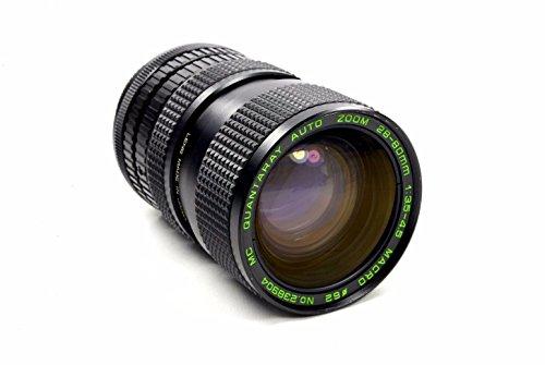 Quantaray 28-80mm Canon FD-Mount Manual Focus Zoom Lens ()