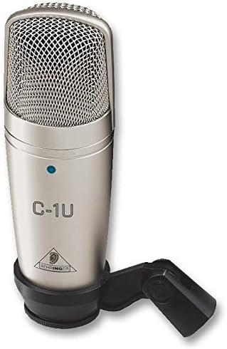 Behringer C 1u Mikrofon Studio Kondensator Usb Elektronik