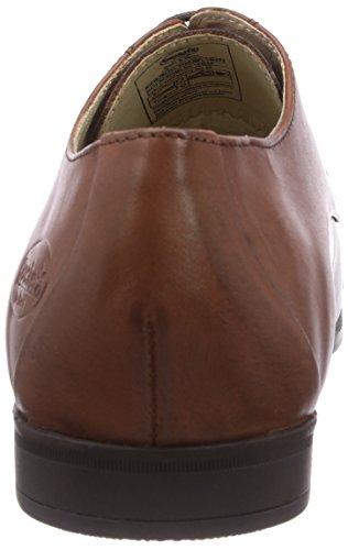 Dockers by Gerli 36MU001-100470 - zapatos con cordones de cuero hombre marrón - Braun (cognac 470)