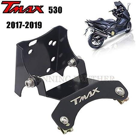 Nrpfell Staffa Supporto Targa Moto per TMAX 530 DX T-Max 530 SX 2017 2018 Accessori Moto nel Lega di Alluminio