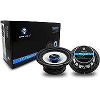 Magic Voice Car Speakers 6.5 -Inch (Pair), Coaxial 2 Way, 120 Watt,Tweeter 20MM, 4Ω, Woofer 99MM. Speakers MO-C6501