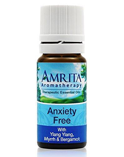 Amrita Aromatherapy: Anxiety Free Essential Oil Synergy Blen