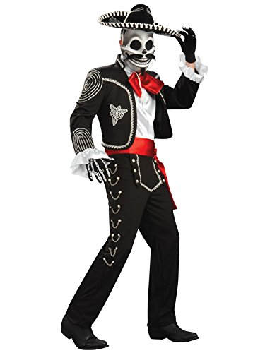 Rubie's Men's Grand Heritage EL Senor Costume, Multi, Standard