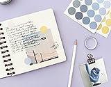 iMagitek 608 Pcs Color Palette Stickers, Writable