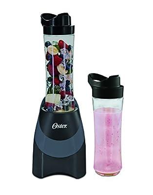 Oster BLSTPB-WC4-FFP MyBlend Personal Blender with 2 Sport Bottles, Black