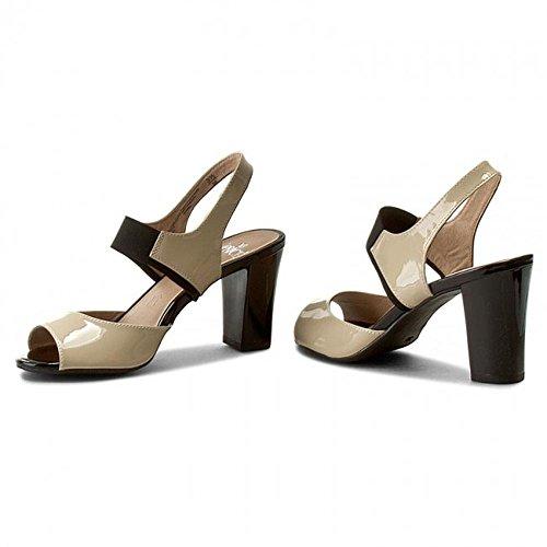 Caprice Women's 9-9-28312-26/311-311 Fashion Sandals Beige 5NVxzKl
