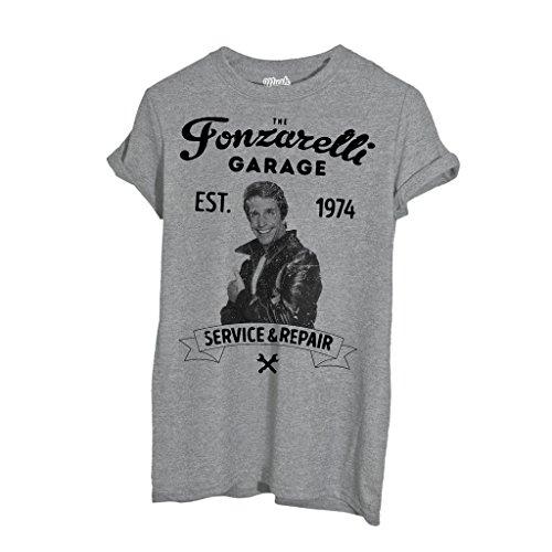 T-Shirt Fonzarelli Garage Happy Days - FILM by Mush Dress Your Style