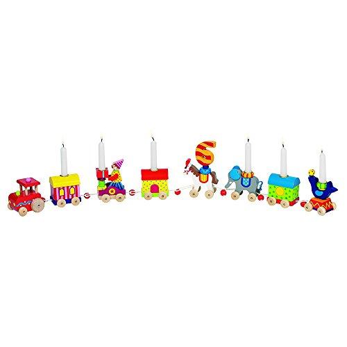 Goki 60919 - Dekoration - Geburtstagszug Zirkuswelt