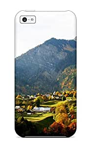 5/5s Scratch-proof Protection Case Cover For Iphone/ Hot Valley In Autumn Phone Case