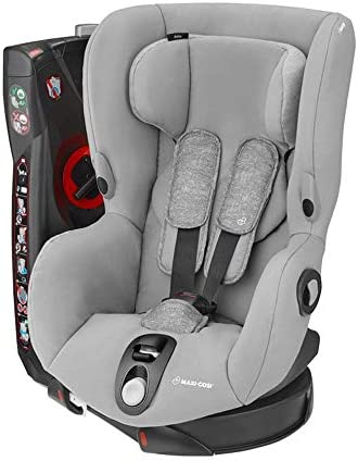 Maxi-Cosi Axiss Swiveling Toddler Car Seat, Extra Secure Fit, Reclining, 9 Months - 4 Years, 9 - 18 kg, Concrete Grey