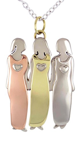 Sisters Necklace Triplets Friends Pendant product image
