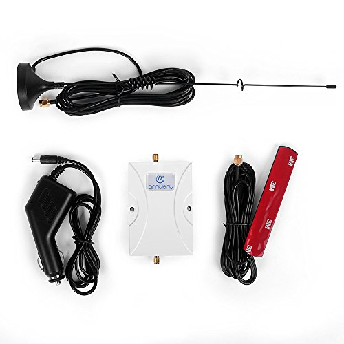 ANNTLENT Car Cell Signal Booster Dual Band 850/1900MHz Cellphone Signal Repeater Amplifier For Truck,RV