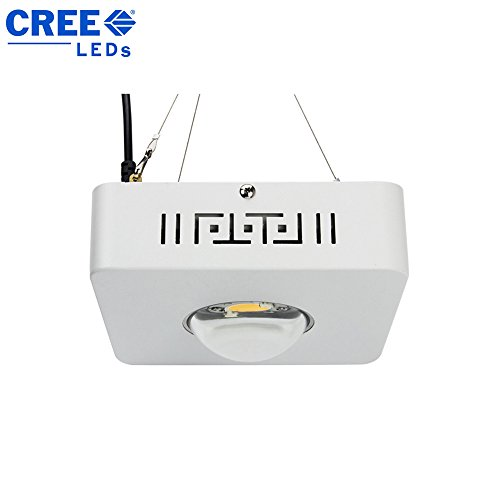 Cree High Intensity 100W Full Spectrum Cob Led Grow Light, Stronger Light Energy With Lens, Cooling Fan Without Noise, High Par Value Especially For Special Plants
