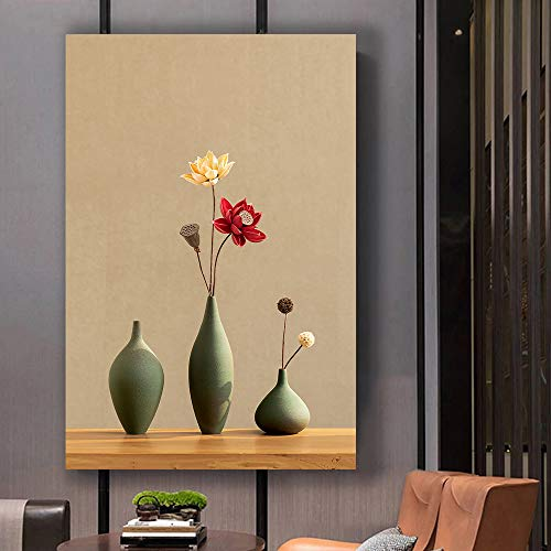 Zen Theme Painting Wall Bedroom Living House