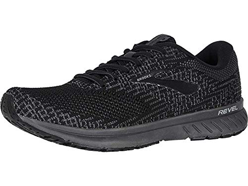 Brooks Men's Revel 3 Black/Pearl/Primer 10.5 D US