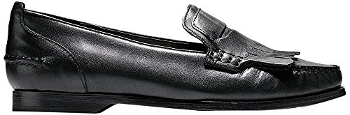 cole haan womens black loafer - 1