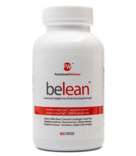 Belean Advanced Weight Loss, Powerful Thermogenic Fat Burning Supplement with 9 top ingredients including Garcinia Cambogia, Green Coffee Extract, Green Tea Leaf extract more- 60 vegetarian capsules